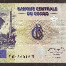 Billetes extranjeros: CONGO REP. DEM. 1 FRANC 1997. PICK 85. S/C. Lote 254793760