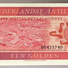 Billetes extranjeros: ANTILLAS HOLANDESAS. 1 GULDEN. Lote 255536795
