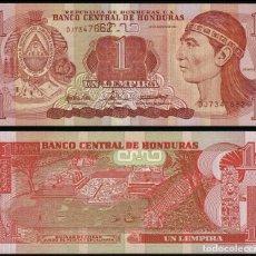 Billetes extranjeros: HONDURAS 1 LEMPIRA 2014 SC / UNC. Lote 255971550