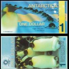 Notas Internacionais: BILLETE DE (ANTARTIDA) 1 DOLLARS 2011 SIN RCULAR-UNC. Lote 258196520