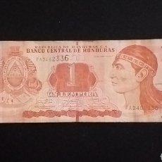Billetes extranjeros: BILLETE 1 LEMEPIRA HONDURAS AÑO 2014. Lote 260267440