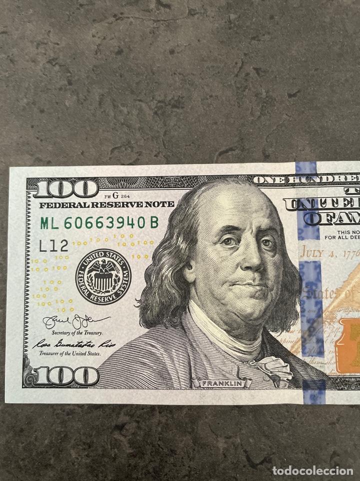 Billetes extranjeros: Billete 100 Dólares 2013 - Foto 4 - 261101710