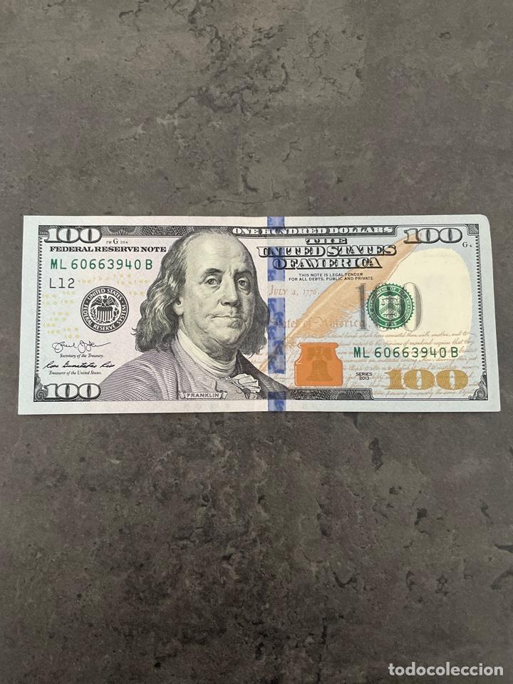 BILLETE 100 DÓLARES 2013 (Numismática - Notafilia - Billetes Internacionales)
