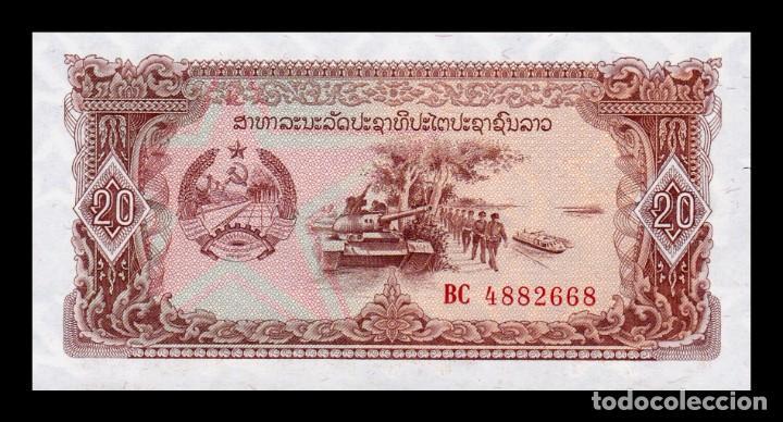 LAOS LAO 20 KIP 1979 PICK 28B SC UNC (Numismática - Notafilia - Billetes Internacionales)