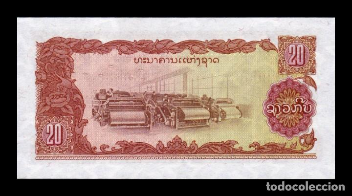 Billetes extranjeros: Laos Lao 20 Kip 1979 Pick 28b SC UNC - Foto 2 - 261102625