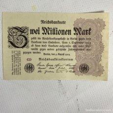 Billets internationaux: BILLETE 1 MILLÓN DE MARCOS ALEMANES 1923. Lote 261347810