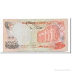 Billetes extranjeros: BILLETE, 500 D<OX>NG, VIETNAM DEL SUR, KM:28A, MBC+. Lote 261575175
