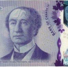 Billetes extranjeros: BILLETE, 10 DOLLARS, 2013, CANADÁ, EBC+. Lote 261575170