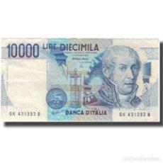 Billetes extranjeros: BILLETE, 10,000 LIRE, 1984, ITALIA, 1984-09-03, KM:112D, EBC. Lote 261575980