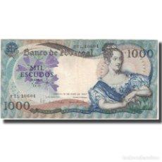 Billetes extranjeros: BILLETE, 1000 ESCUDOS, 1967, PORTUGAL, 1967-05-19, KM:172A, MBC+. Lote 261575990