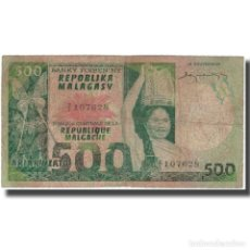 Billetes extranjeros: BILLETE, 500 FRANCS = 100 ARIARY, MADAGASCAR, KM:64A, BC. Lote 261579045