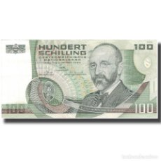 Billetes extranjeros: BILLETE, 100 SCHILLING, 1984, AUSTRIA, 1984-01-02, KM:150, EBC+. Lote 261579750