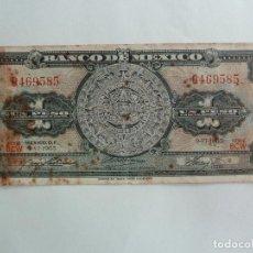 Billetes extranjeros: MÉXICO. BILLETE DE 1 PESO.1965. Lote 261616940