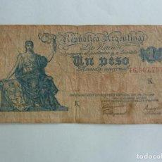 Billetes extranjeros: ARGENTINA. BILLETE DE 1 PESO. Lote 261622655