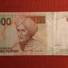 Billetes extranjeros: 5.000 RUPIAH, INDONESIA. 2001/2002. (PICK.142B).. Lote 261848870