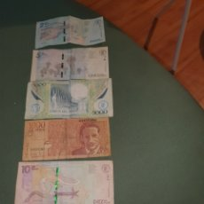 Billetes extranjeros: 6 BILLETES DE COLOMBIA. Lote 262001100