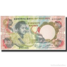 Billetes extranjeros: BILLETE, 20 NAIRA, UNDATED 1973-1977, NIGERIA, KM:18E, MBC. Lote 262155055