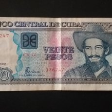 Billetes extranjeros: MUY BONITO BILLETE CUBA 10 PESOS. Lote 262669255