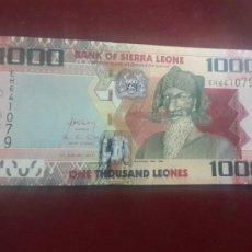 Billetes extranjeros: SIERRA LEONA LEONE 1000 LEONES 2013 (2016) SC UNC. Lote 263157785