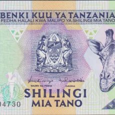 Billetes extranjeros: BILLETES - TANZANIA - 500 SHILINGI (1997) - SERIE AD - PICK-30 (SC). Lote 263606465