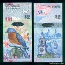 Notas Internacionais: BERMUDA : 2 DÓLARES 2009. SC.UNC. PK.57B. Lote 265572444
