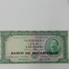 Billetes extranjeros: BILLETE DE 100 ESCUDOS DE MOZAMBIQUE ,AÑO 1961,SIN CIRCULAR. Lote 267289539