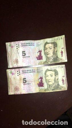 BILLETES DE 5 (Numismática - Notafilia - Billetes Internacionales)