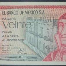 Billetes extranjeros: MEXICO MEJICO 20 PESOS 1977. PICK 64. Lote 268919774