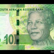 Banconote internazionali: SUDAFRICA SOUTH AFRICA 10 RAND MANDELA 2016 PICK 138B SC UNC. Lote 269036074
