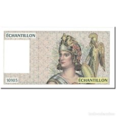 Billetes extranjeros: [#607108] FRANCIA, 100 FRANCS, 1990-1995, UNDATED (1990-95), ÉCHANTILLON, UNC. Lote 269158578