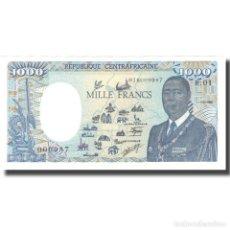 Billetes extranjeros: [#805706] BILLETE, 1000 FRANCS, REPÚBLICA CENTROAFRICANA, 1990-01-01, KM:16, SC+. Lote 269166873