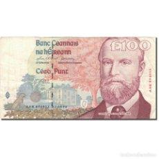 Billetes extranjeros: [#803195] BILLETE, 100 POUNDS, 1996, IRLANDA - REPÚBLICA, 1996-08-22, KM:79A, BC+. Lote 269180308