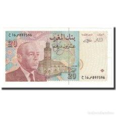 Billetes extranjeros: [#641933] BILLETE, 20 DIRHAMS, 1996, MARRUECOS, KM:67E, SC. Lote 269188130