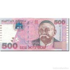 Billetes extranjeros: [#803576] BILLETE, 500 SOM, 2005, KIRGUISTÁN, 2005, KM:23A, UNC. Lote 269189548