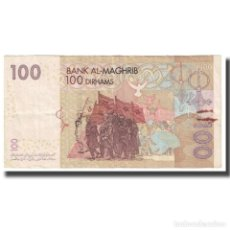 Billetes extranjeros: [#631605] BILLETE, 100 DIRHAMS, MARRUECOS, KM:70, BC. Lote 269189638