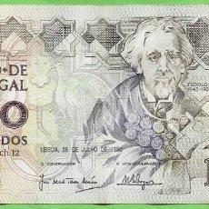 Billetes extranjeros: PORTUGAL BILLETE DE 1000 ESCUDOS 1989. TEOFILO BRAGA. Lote 269304543