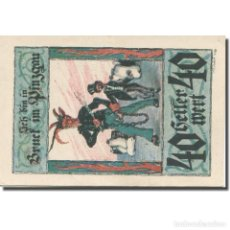 Billetes extranjeros: [#281151] BILLETE, AUSTRIA, BRUCK, 40 HELLER, PERSONNAGE 1921-01-15, SC MEHL:FS 107IIIA. Lote 269733848