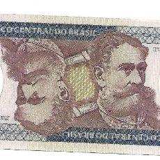 Billetes extranjeros: BRASIL 500 CRUZEIROS 1981 PICK 200A SIN CIRCULAR. Lote 270236253