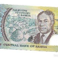 Billetes extranjeros: SAMOA 2 TALA 1990 PICK 31E POLIMERO. SIN CIRCULAR. Lote 270237523