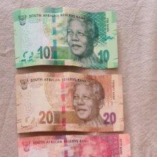 Billetes extranjeros: BILLETES SUDAFRICA MANDELA/ BIG FIVE. Lote 270237538