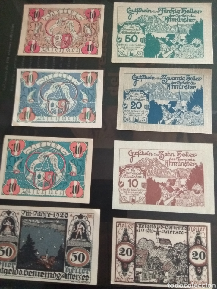 Billetes extranjeros: Lote billetes Imperio Austriaco años 1920 - Foto 2 - 270596598