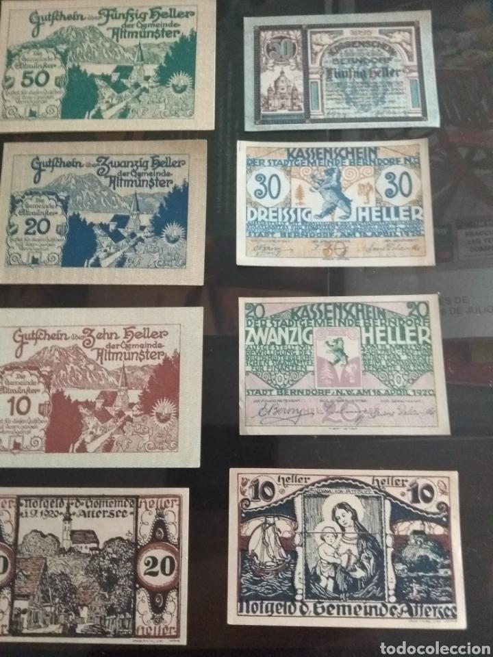 Billetes extranjeros: Lote billetes Imperio Austriaco años 1920 - Foto 3 - 270596598