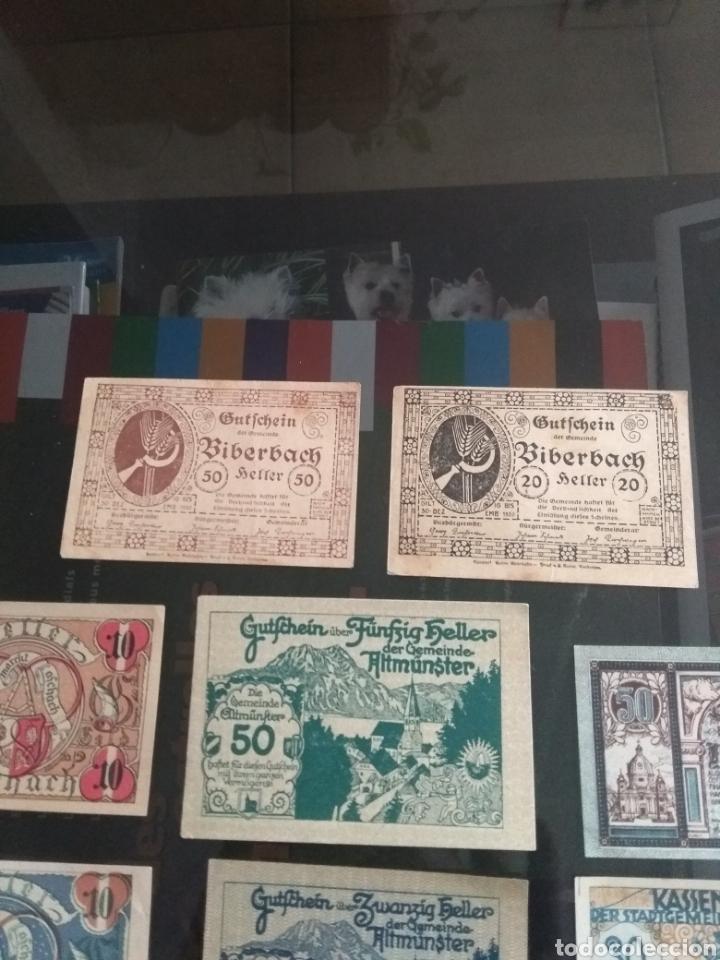 Billetes extranjeros: Lote billetes Imperio Austriaco años 1920 - Foto 4 - 270596598