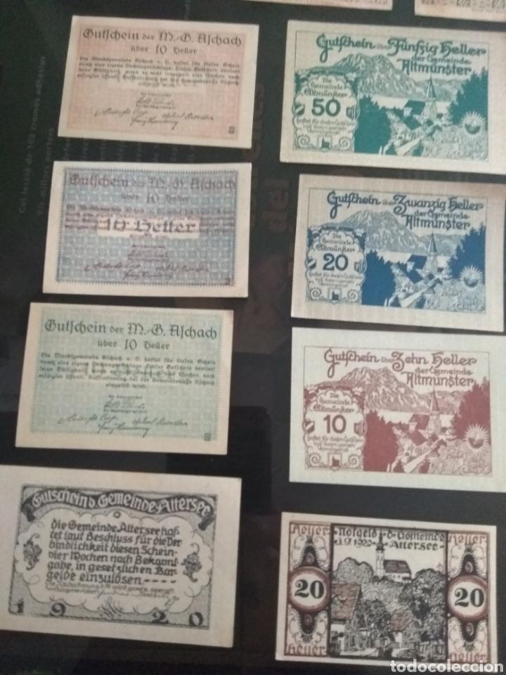 Billetes extranjeros: Lote billetes Imperio Austriaco años 1920 - Foto 5 - 270596598