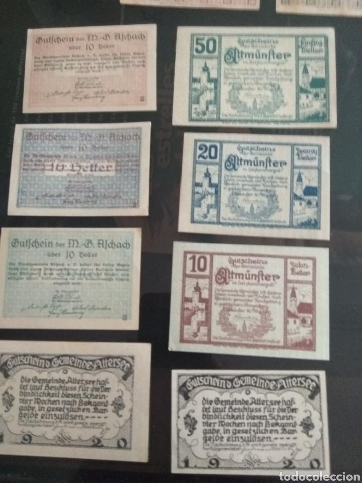 Billetes extranjeros: Lote billetes Imperio Austriaco años 1920 - Foto 6 - 270596598