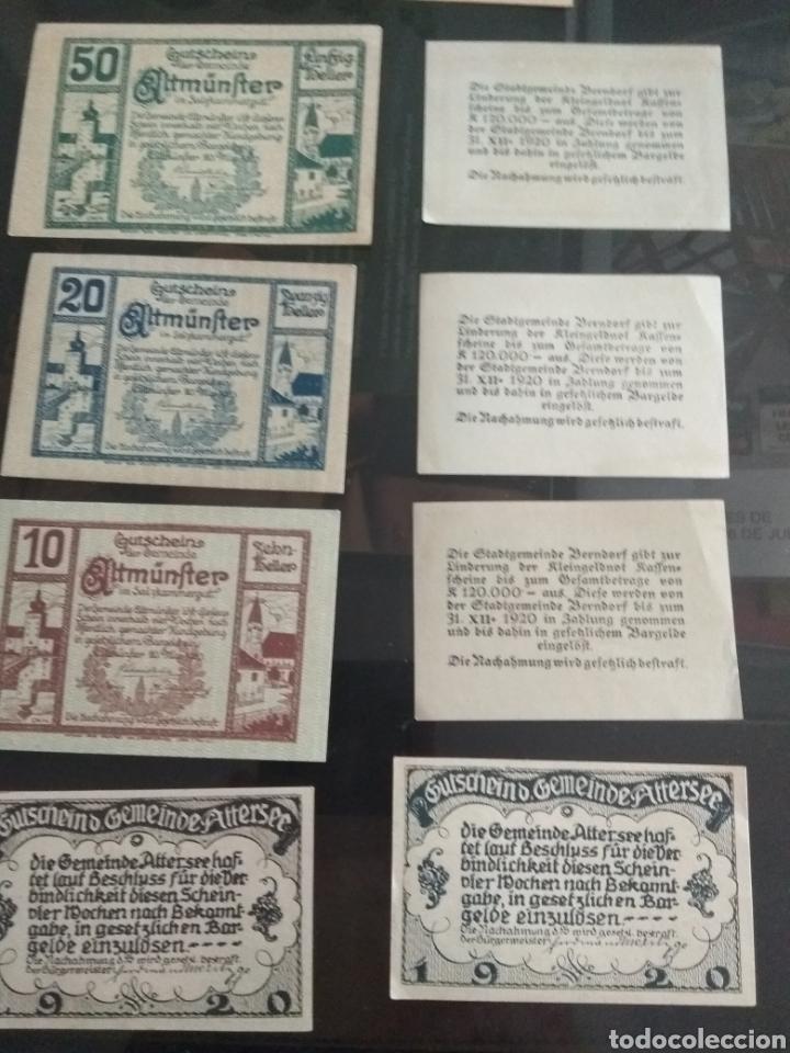 Billetes extranjeros: Lote billetes Imperio Austriaco años 1920 - Foto 7 - 270596598