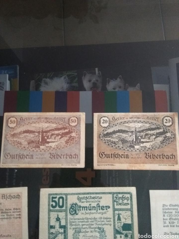 Billetes extranjeros: Lote billetes Imperio Austriaco años 1920 - Foto 8 - 270596598