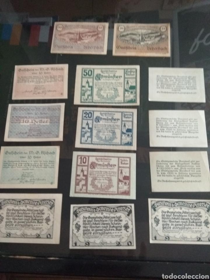 Billetes extranjeros: Lote billetes Imperio Austriaco años 1920 - Foto 9 - 270596598