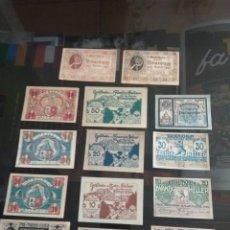 Billetes extranjeros: LOTE BILLETES IMPERIO AUSTRIACO AÑOS 1920. Lote 270596598