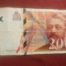 Billetes extranjeros: FRANCIA - 200 FRANCS 1997. Lote 270642273